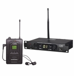 Audio 2000's AWM6304U Pro UHF In-Ear Monitoring System