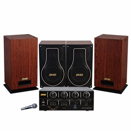 BMB Advanced Package 200W Amplifier with Vocal Speakers & Subwoofer