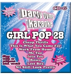 Party Tyme Karaoke CDG SYB1696 Girl Pop 28