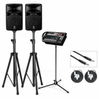 Yamaha STAGEPAS 400i 400W PA System with Stands