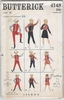 Butterick 4148 Boy's & Girls's Cowboy Costumes, Chest 28""