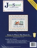 """Home Is Where The Heart Is"" Stamped Cross Stitch Sampler Kit"
