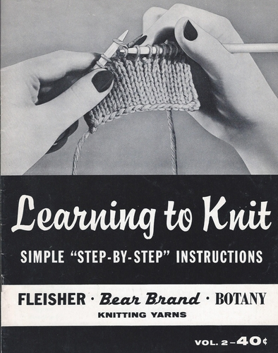 Learning To Knit Vol. 2 1963