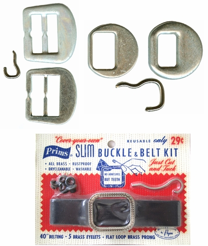 Make Matching Belt Buckles And Buttons For All Your Outfits!