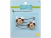 "Babyville Boutique ""Monkey"" Diaper Pins"