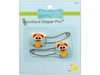 "Babyville Boutique ""Owl"" Diaper Pins"