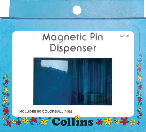 Collins Magnetic Pin Dispenser