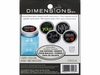 "Dimensions ""Garden Market"" Jar Toppers Embroidery Kit"