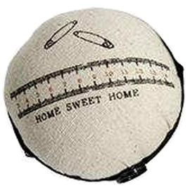 """Home Sweet Home"" Wrist Pincushion"