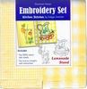 "**NEW** ""Lemonade Stand"" Embroidery Set"