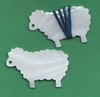"**NEW** Mother Of Pearl ""Ewe"" Thread Winders"