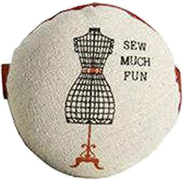 """Sew Much Fun"" Wrist Pincushion"