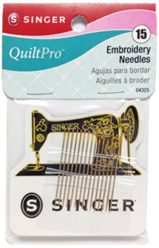 Singer Embroidery Needles With Magnetic Holder