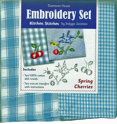 "Dunroven House  ""Spring Cherries"" Embroidery Set"