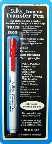 Sulky Red Iron-On Transfer Pen