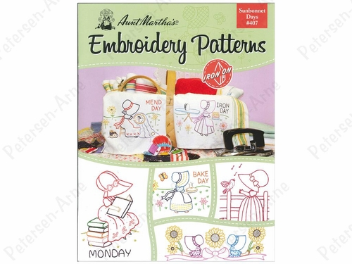 Sunbonnet Days Embroidery Pattern Book