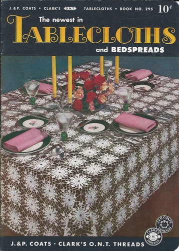 The Newest In Tablecloths And Bedspreads 1952