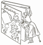 VINTAGE BOOKS for SEWING & CRAFTS