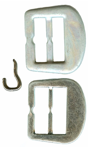 Vintage Cover Your Own Buckle Kit With Prong