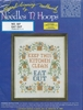 "Vintage Hoops 'n Needles ""Eat Out"" Stamper Cross Stitch Sampler Kit"