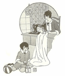 VINTAGE SEWING PATTERNS for Children & Toys