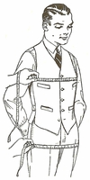 VINTAGE SEWING PATTERNS for Men