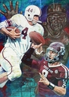 A&M Heisman x 2 featuring Johnny Manziel and John David Crow fine art print