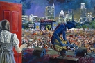 Austin City Limits (ACL) Music Festival with Gary Clark Jr fine art print with limited edition canvas giclee option