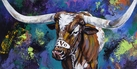 Bevo XIV Makes a Splash limited edition canvas giclee