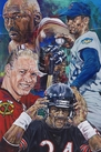 Chi-Town Champs: Chicago Sports Greats artwork series