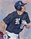 College Baseball Hall of Fame Artwork Series by Robert Hurst 2015 fine art prints