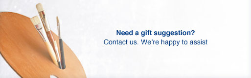 Need a gift suggestion? Contact us. We're happy to assis