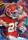Jamaal Charles Kansas City Chiefs fine art print
