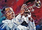Louis Armstrong Seeing the Music fine art print
