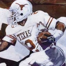 University of Texas Football Artwork by Robert Hurst
