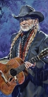 Willie Nelson All Suited Up limited edition giclee on canvas featuring Willie Nelson by Robert Hurst
