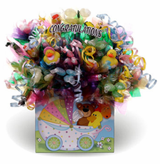 Baby Candy Bouquet Gift Box - FREE SHIPPING