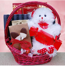 Bear Hugs Gift Basket - FREE SHIPPING