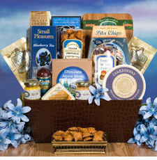 Blue Sky Limits Snack Basket - FREE SHIPPING