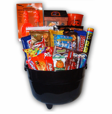 Cauldron Halloween Bucket - FREE SHIPPING