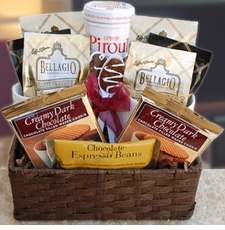 Coffee Delights Gift Basket - FREE SHIPPING