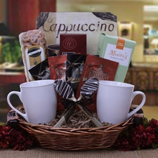 Coffee Lover's Gift Basket - FREE SHIPPING
