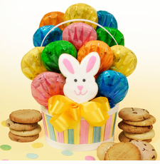 Easter Basket Cookie Bouquet - FREE SHIPPING