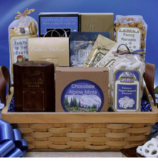 Fancy Gourmet Selections Basket - FREE SHIPPING