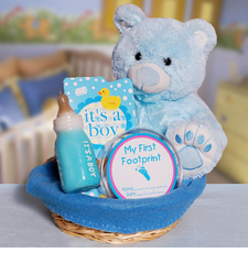 For the Baby Boy Gift Basket - FREE SHIPPING