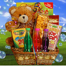 Fun & Games Kids' Basket - FREE SHIPPPING