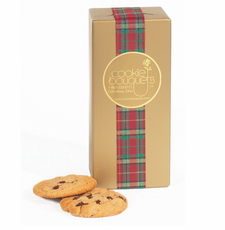 Gold Foil Christmas Cookie Boxes