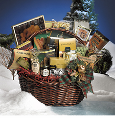 Holiday Celebration Gift Basket - FREE SHIPPING