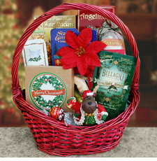 Holiday Classics Christmas Gift Basket - FREE SHIPPING