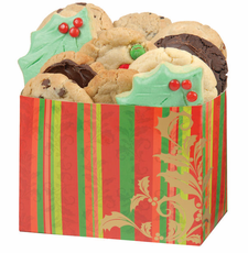 Holiday Scroll Cookie Box